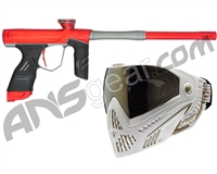 Dye DSR Gun w/ Free White/Gold Dye I5 Mask - Blaze Red