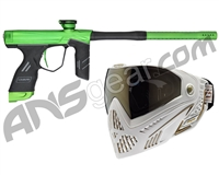 Dye DSR Gun w/ Free White/Gold Dye I5 Mask - Green/Black
