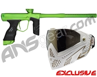 Dye DSR Gun w/ Free White/Gold Dye I5 Mask - Green/Sour Apple