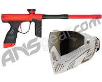 Dye DSR Gun w/ Free White/Gold Dye I5 Mask - Red/Black