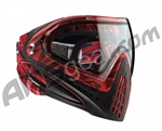 2012 Dye Invision Goggle I4 Pro Mask - Red Cloth