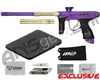 Dye M2 MOSair Paintball Gun - Dust Purple/Gold