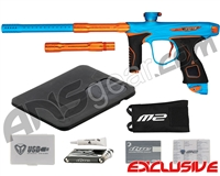 Dye M2 MOSair Paintball Gun - Dust Teal/Orange