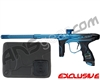 Dye M2 MOSair Paintball Gun - Polished Blue/Black Fade
