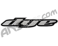 "Dye Paintball 30"" Die-Cut Auto Decal - Black"
