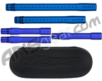 Dye Ultralite Paintball 5pc. Barrel Kit w/ Boom Box - Autococker Threaded - Dust Blue