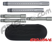 Dye Ultralite Paintball 5pc. Barrel Kit w/ Boom Box - Autococker Threaded - Gun Metal Grey