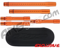Dye Ultralite Paintball 5pc. Barrel Kit w/ Boom Box - Autococker Threaded - Sunburst Orange