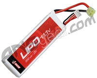 Echo1 11.1V 1650mAh 25c Lipo Airsoft Battery #2