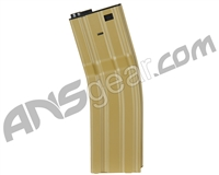 Echo1 M4/M16 FAT 850 Round Metal Magazine - Tan