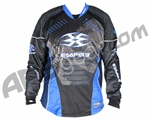 Empire 2008 Contact SE Paintball Jersey - Blue