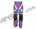 Empire 2008 LTD Contact SE Paintball Pants - Red/White/Blue