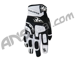 Empire 2009 Contact ZN Paintball Gloves - White