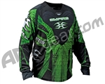 2011 Empire Contact LTD ZE Paintball Jersey - Green Blast