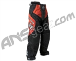 2011 Empire Contact LTD ZE Paintball Pants - Red Scratch