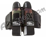 2012 Empire React Breed Paintball Harness - 2+5 - Woodland Camo