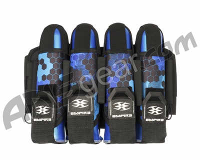 Empire Action Pack Hex FT Paintball Harness - 4+7 - Blue