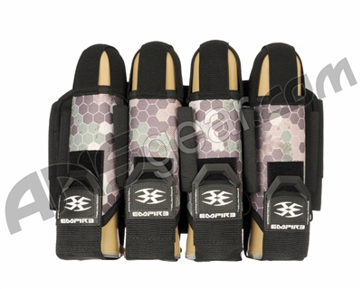 Empire Action Pack Hex FT Paintball Harness - 4+7 - Tan