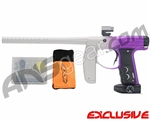 Empire Axe Paintball Gun - S.E. Fade Dust White/Purple