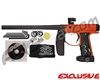 Empire Axe Paintball Gun - Dust Black/Sunburst Orange Fade