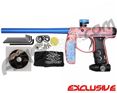 "Empire Axe Paintball Gun - Laser Engraved ""Destroy"""