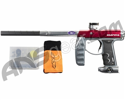 Empire Axe Pro Paintball Gun - LE Red/Silver