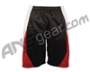 Empire Baseline Shorts - Black/Red