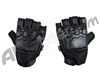 Empire Battle Tested Hard Back Fingerless Paintball Gloves