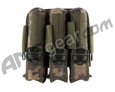 Empire Battle Tested 3+4 Pod Pouch Paintball Harness - Terrapat