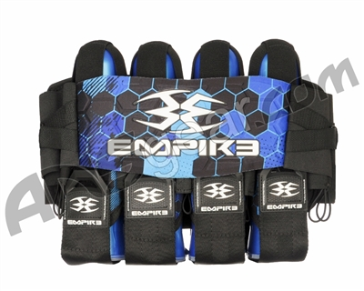 Empire Compressor Pack Hex FT Paintball Harness - 4+7 - Blue