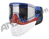 Empire E-Flex Paintball Mask - Blue/Red/White