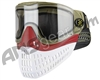 Empire E-Flex Paintball Mask - Olive/Red/White