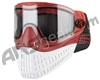 Empire E-Flex Paintball Mask - Red/Red/White