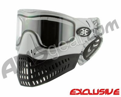 Empire E-Flex Paintball Mask w/ Skyline Soft Ears - White