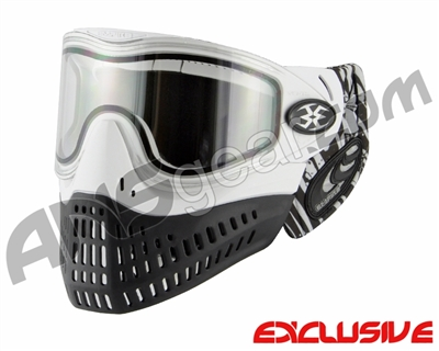 Empire E-Flex Paintball Mask w/ Tipsy Soft Ears - White