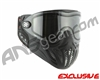 Empire E-Vents Paintball Mask w/ Red Camo Strap - Black