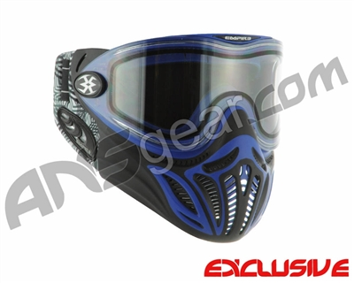 Empire E-Vents Paintball Mask w/ Star Soft Ears - Blue
