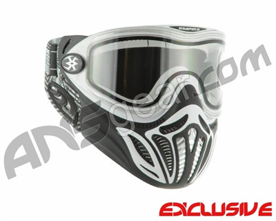 Empire E-Vents Paintball Mask w/ Star Soft Ears - White