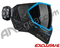 Empire EVS Paintball Mask w/ Recon HUD - Black/Blue