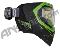 Empire EVS Paintball Mask w/ Recon HUD - Black/Lime