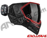Empire EVS Paintball Mask w/ Recon HUD - Black/Red