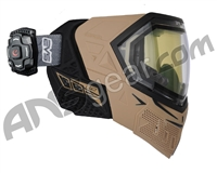 Empire EVS Paintball Mask w/ Recon HUD - Tan/Black