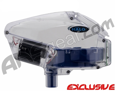 Empire Halo Too SE Paintball Hopper - Clear