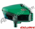 Empire Halo Too SE Paintball Hopper - Dark Green