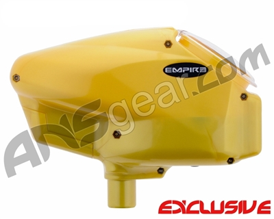 Empire Halo Too SE Paintball Hopper - Pearl Yellow