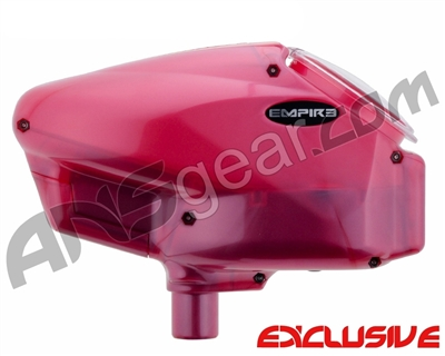 Empire Halo Too SE Paintball Hopper - Rose