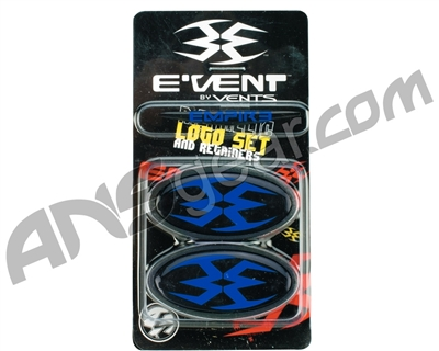Empire Events Mask Logo Set & Retainers - Blue