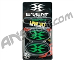 Empire Events Mask Logo Set & Retainers - Green