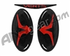 Empire Vents Mask Logo Set & Retainers - Red (22166)