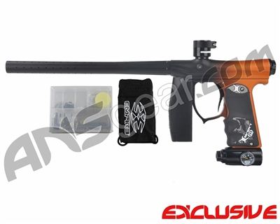 Empire Mini FS Paintball Marker - Fade Dust Black/Orange